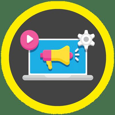Image of Digital marketing strategy.