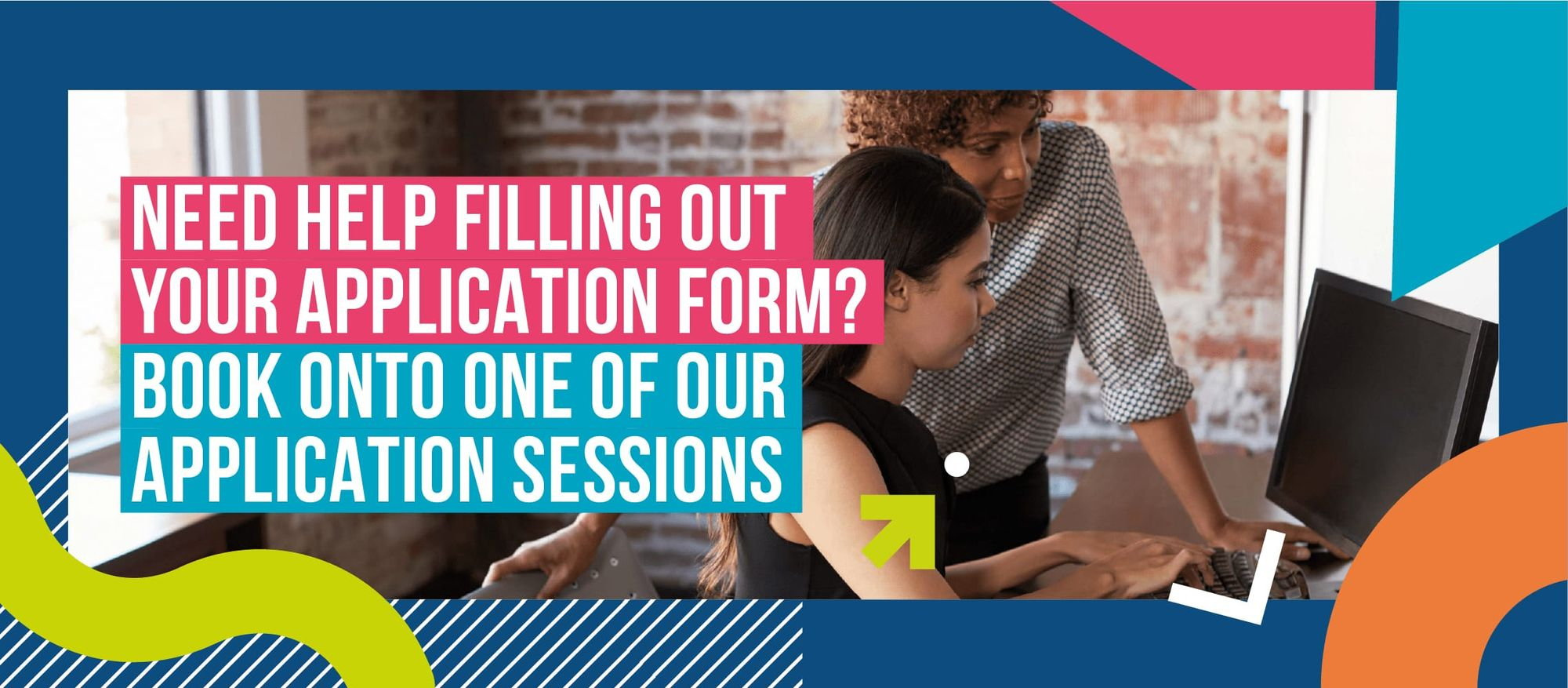 Book an application session