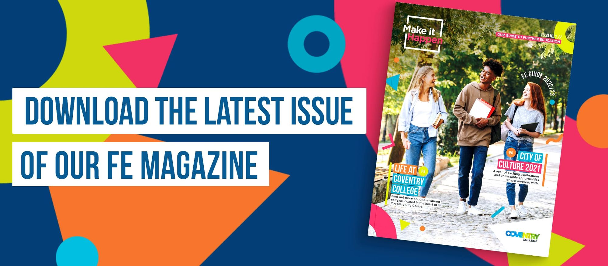 Download latest issue of our FE Magazine