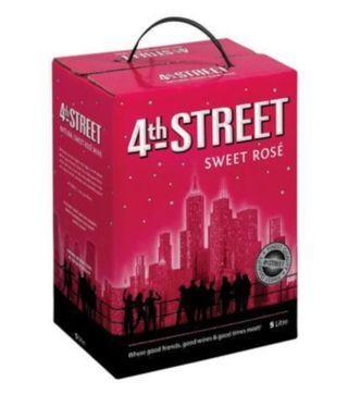 Buy 4th street rose' cask online from Nairobi drinks