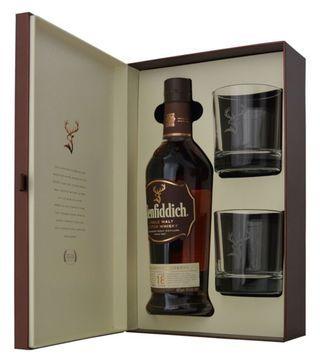 Buy glenfiddich 18 years gift pack online from Nairobi drinks