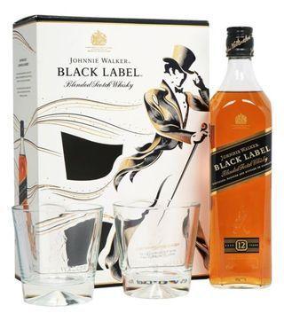 Buy johnnie walker black label gift pack online from Nairobi drinks