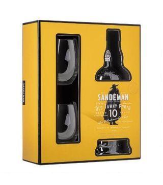 Buy sandeman 10 years gift pack online from Nairobi drinks