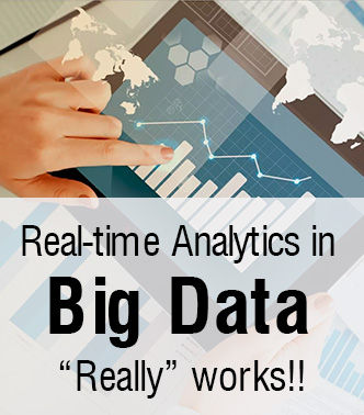 "Real-time Analytics in Big Data, ""Really"" works!!"