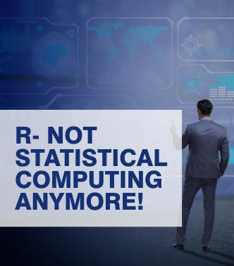 R- Not Statistical Computing Anymore!
