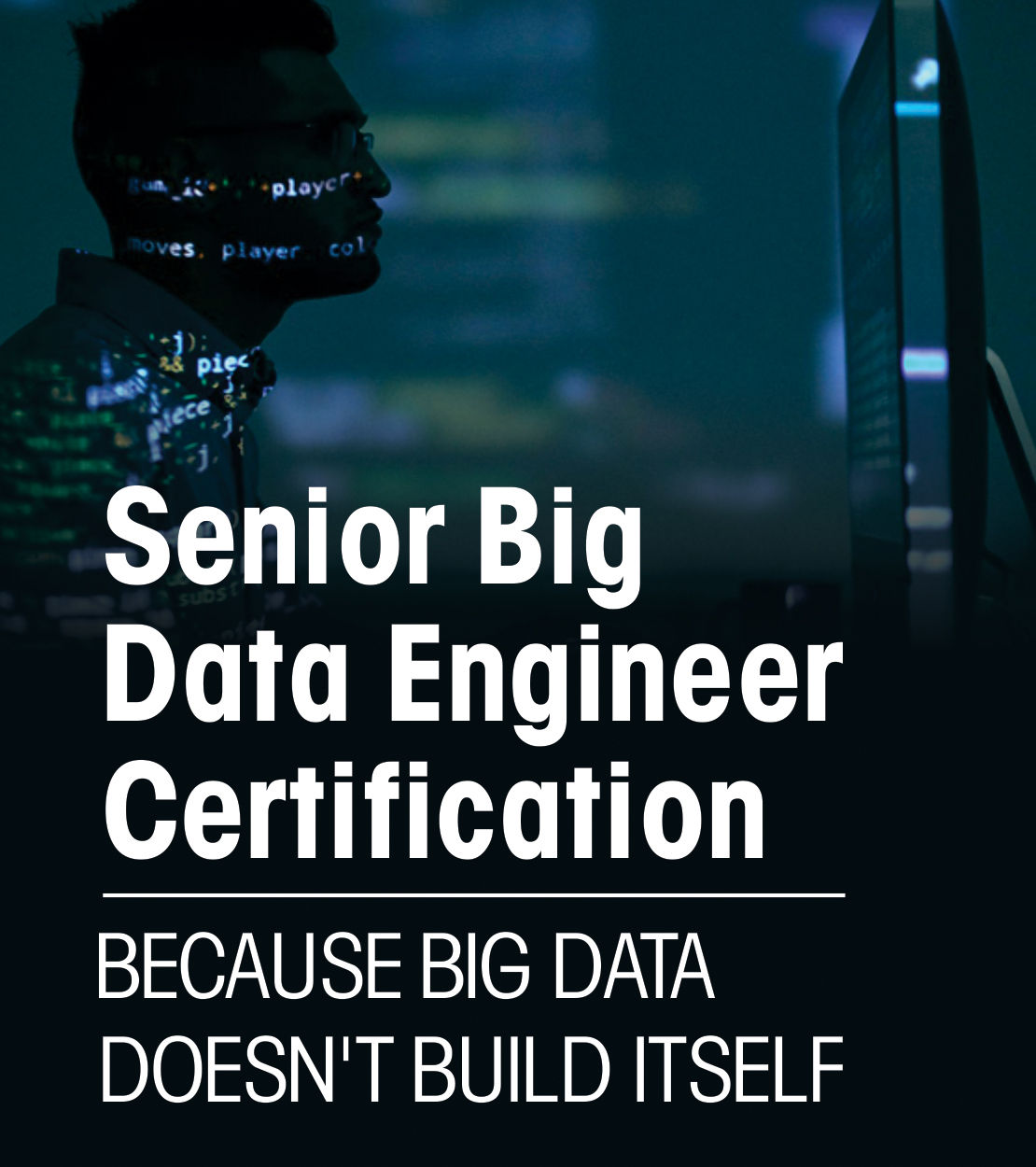 Senior Big Data Engineer Certification - Because Big Data Doesn't Build Itself