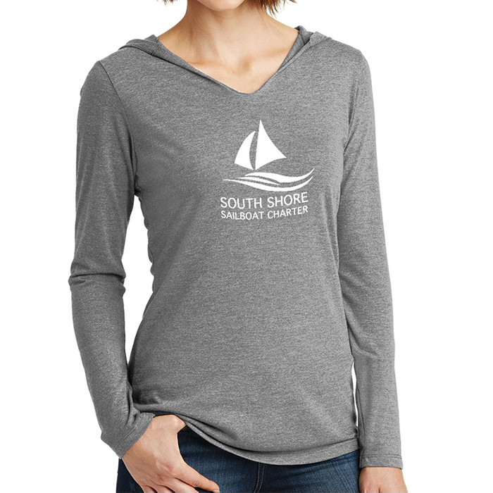 District ®  Ladies' Perfect Tri ® Long Sleeve Hoodie