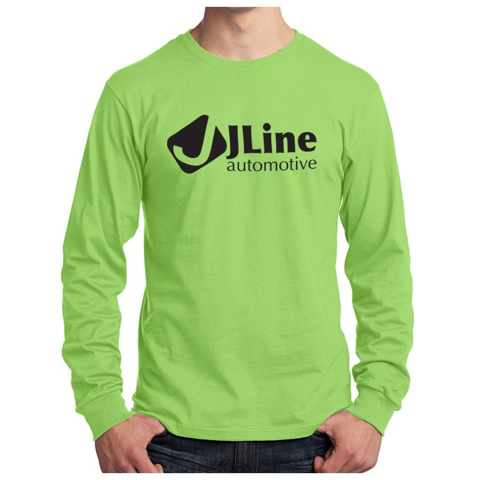 Port & Company ® Long Sleeve Core Cotton T-Shirt
