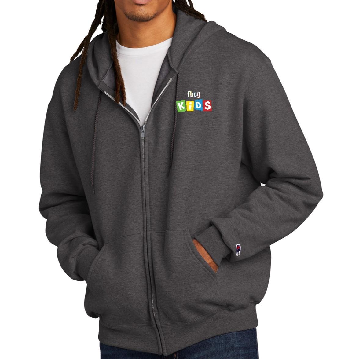 Champion® Eco Fleece Full-Zip Hoodie