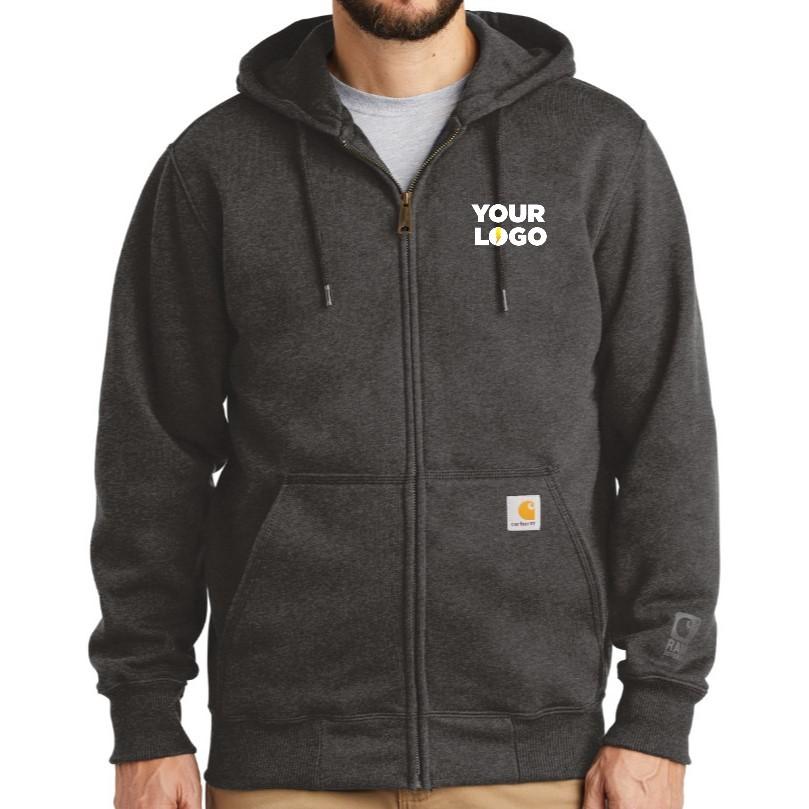 Carhartt ® Rain Defender ® Paxton Heavyweight Hooded Zip-Front Sweatshirt