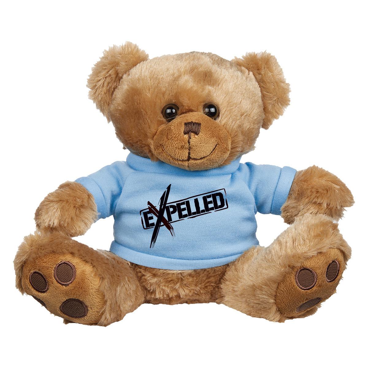 "8  ½"" Brown Big Paw Bear Shirt"
