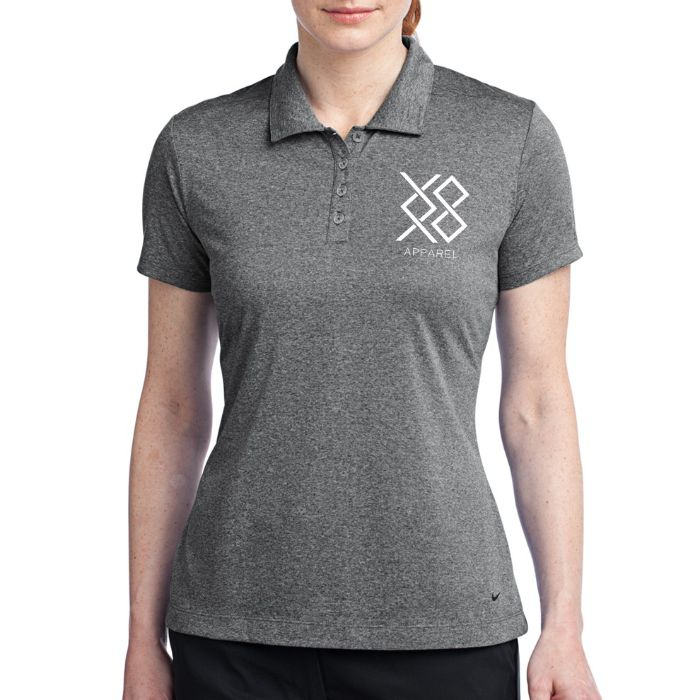 Nike Ladies' Dri-FIT Heather Polo