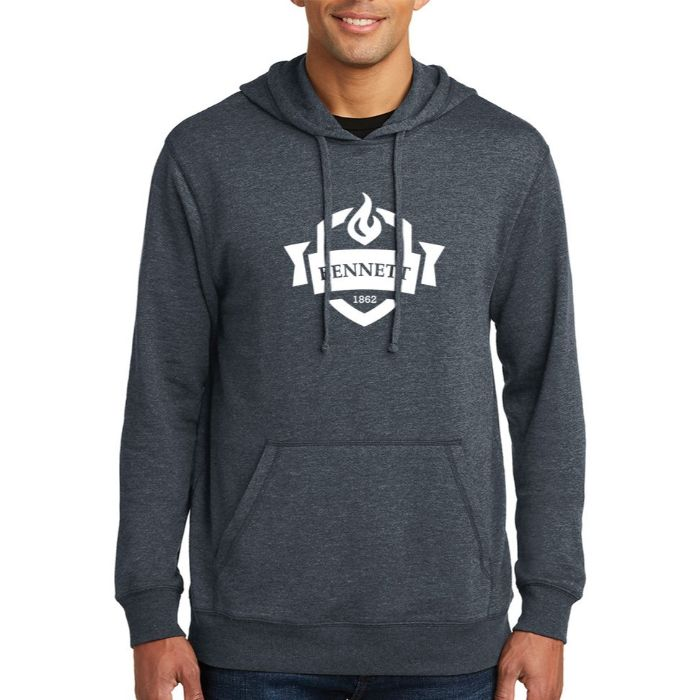District ® Men's Lightweight Fleece Hoodie