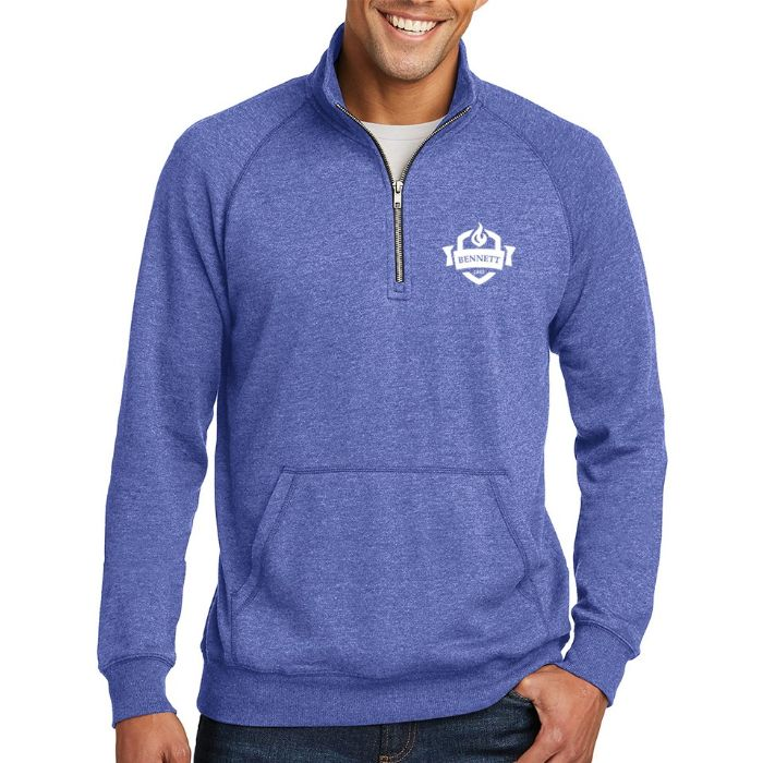 District ® Men's Lightweight Fleece 1/4-Zip
