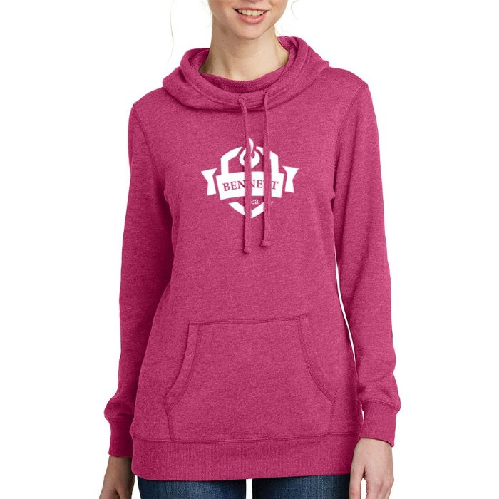 District ® Ladies' Lightweight Fleece Hoodie