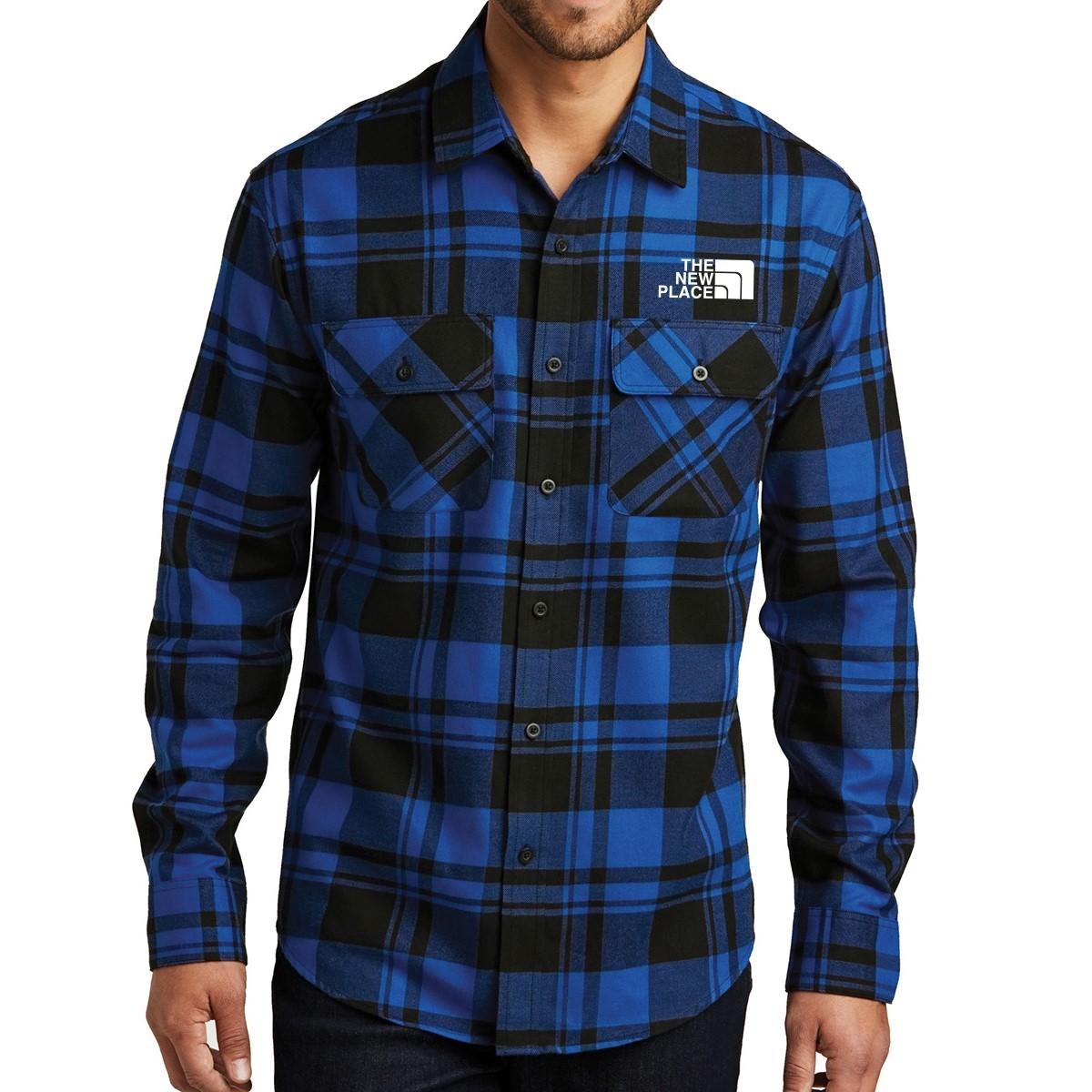 Port Authority ® Plaid Flannel Shirt
