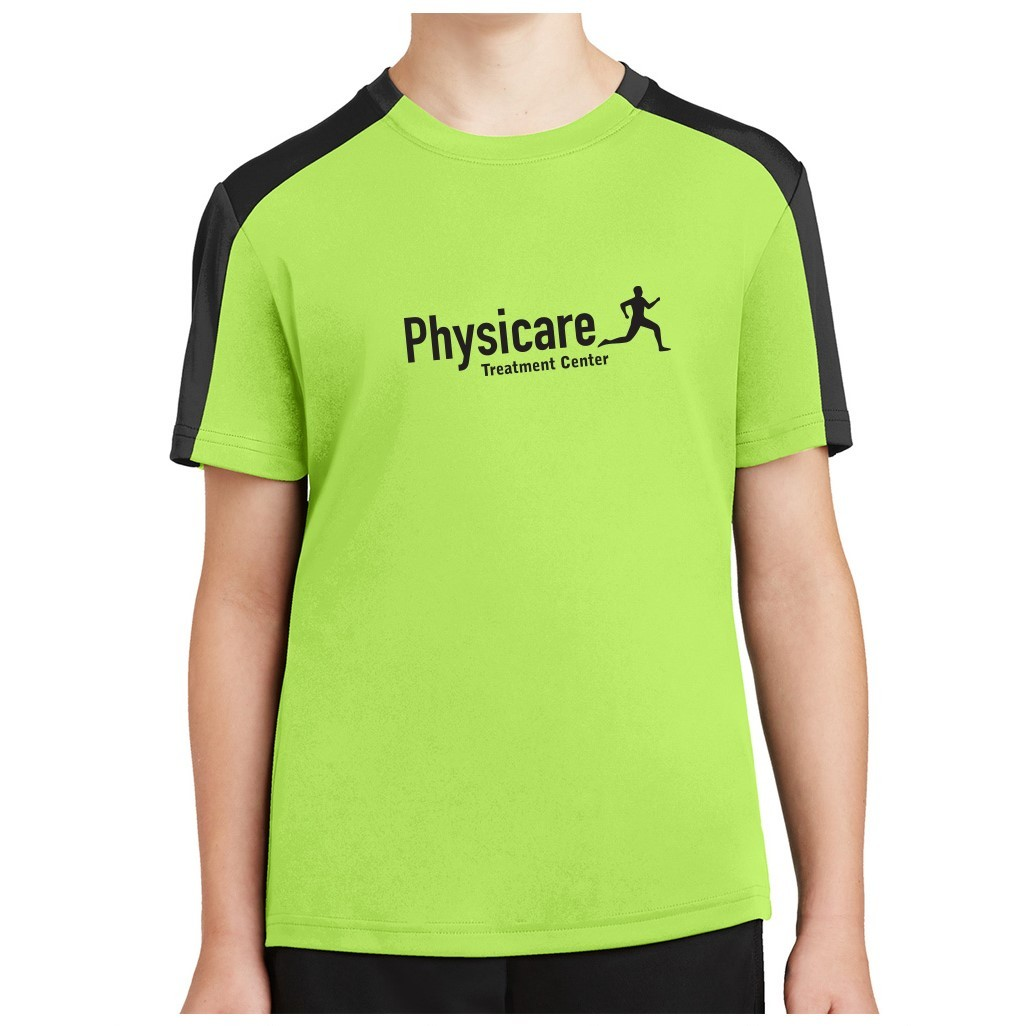 Sport-Tek ® Youth PosiCharge ® Competitor ™ Sleeve-Blocked Tee