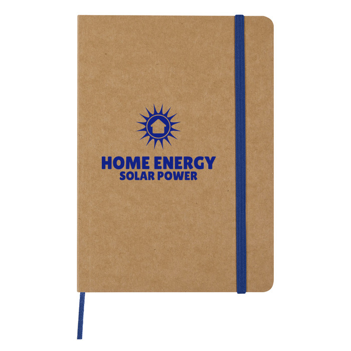 Eco-Inspired Strap Notebook