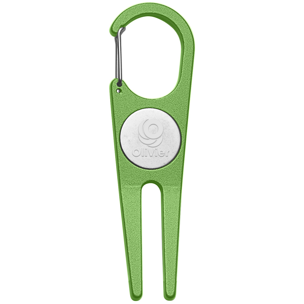 Aluminum Divot Tool With Ball Marker