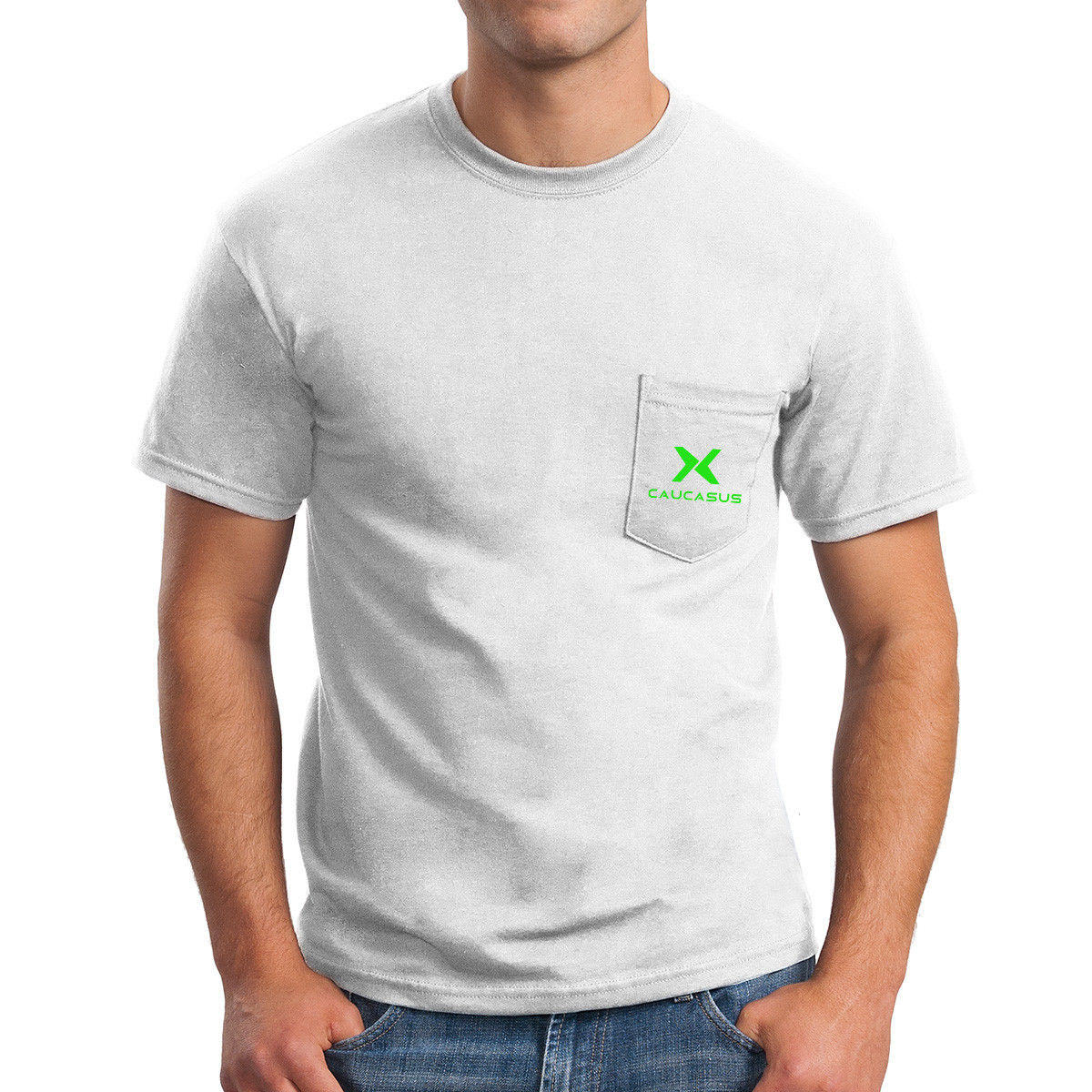 Gildan ® Ultra Cotton ® 100% Cotton T-Shirt with Pocket