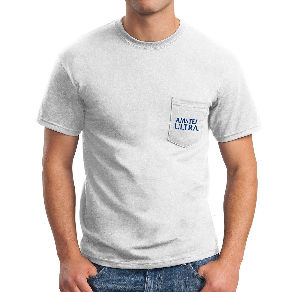 Gildan ® DryBlend ® 50 Cotton/50 Poly Pocket T-Shirt