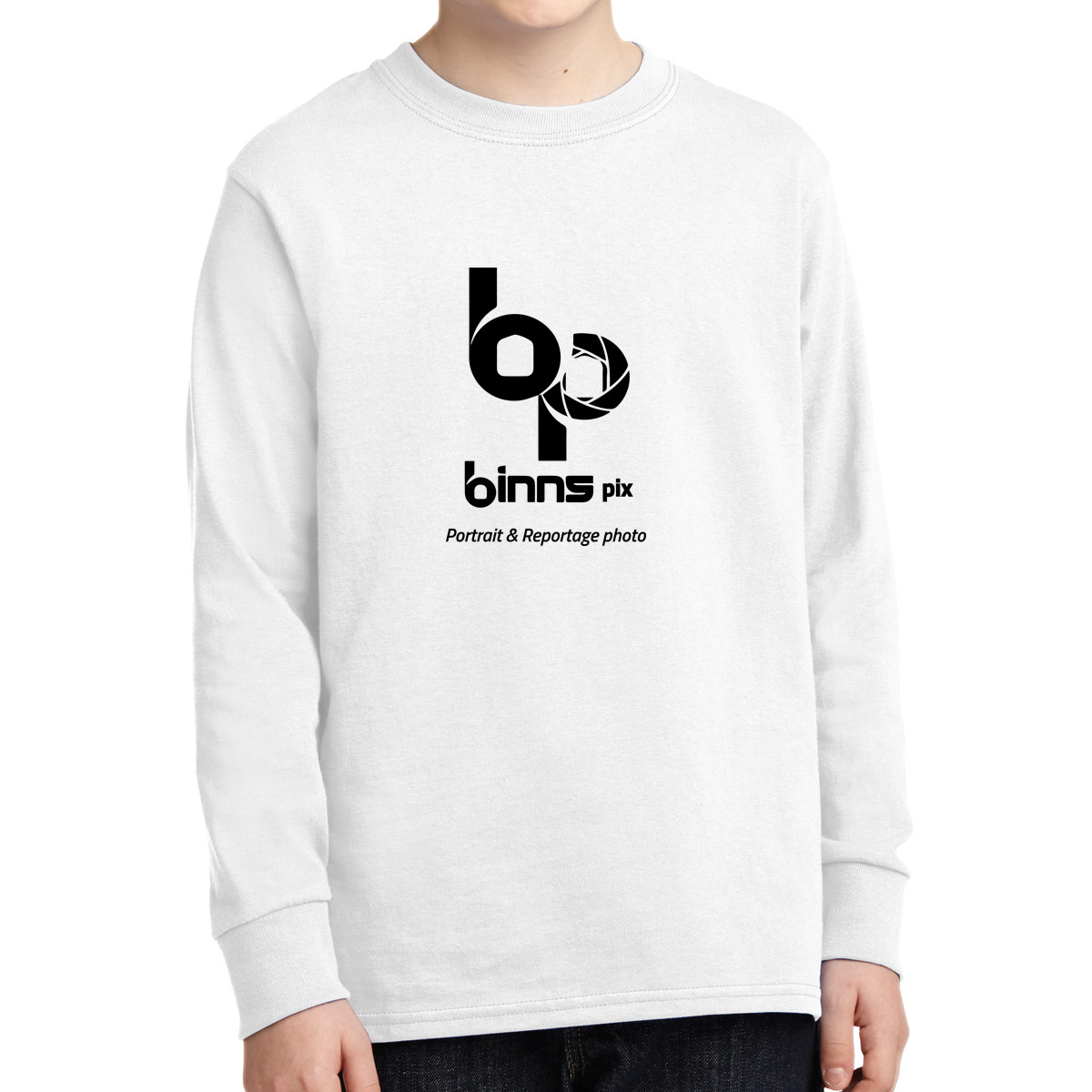 Port & Company ® Youth Long Sleeve Core Cotton T-Shirt