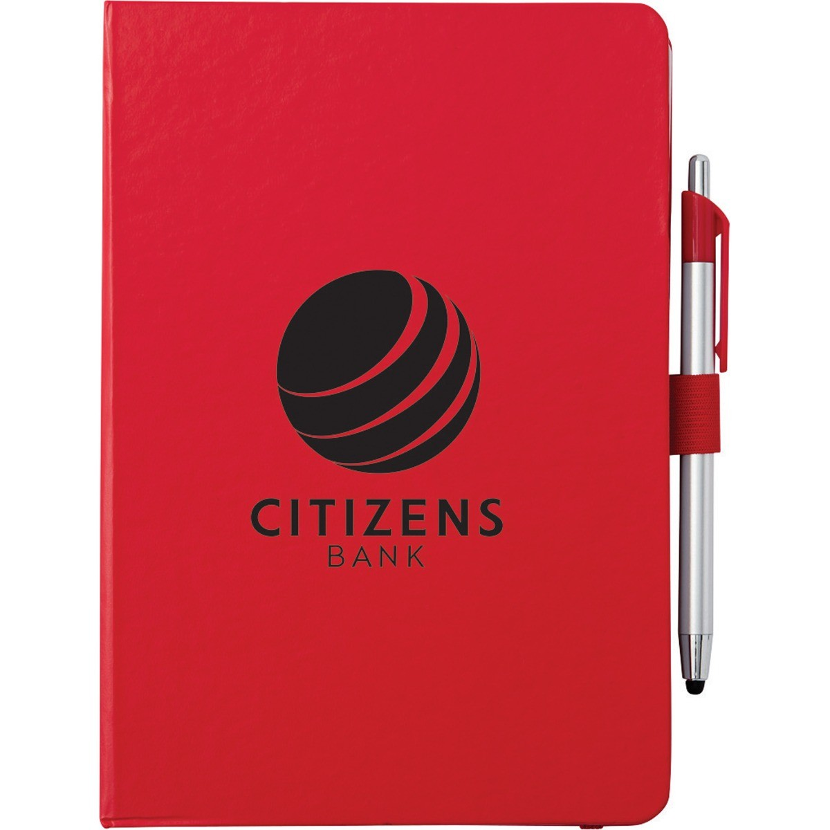 """6"""" x 8.5"""" Crown Journal with Pen-Stylus"""
