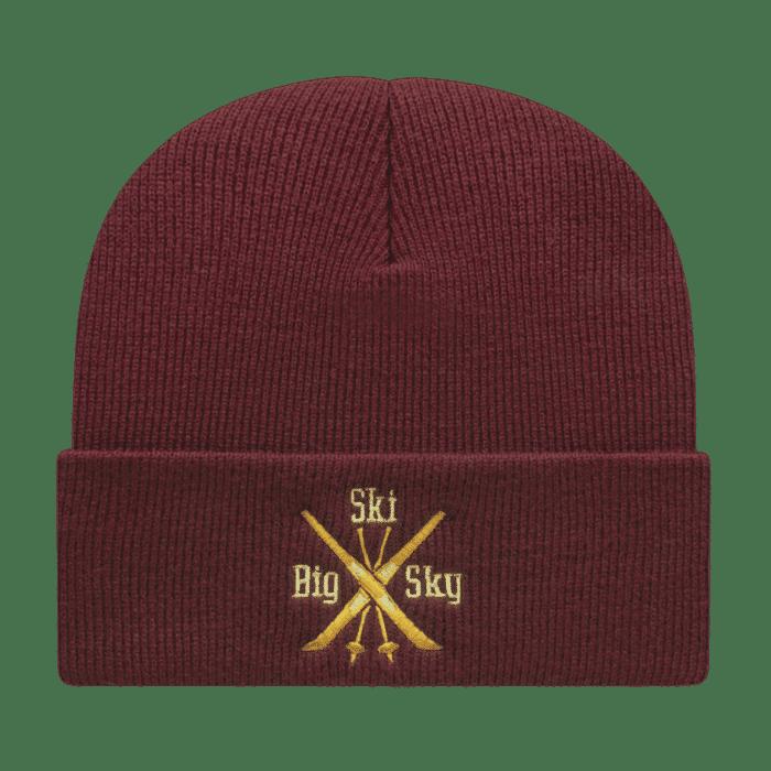 Pro Rib Tompkin Knit Cap w/Cuff
