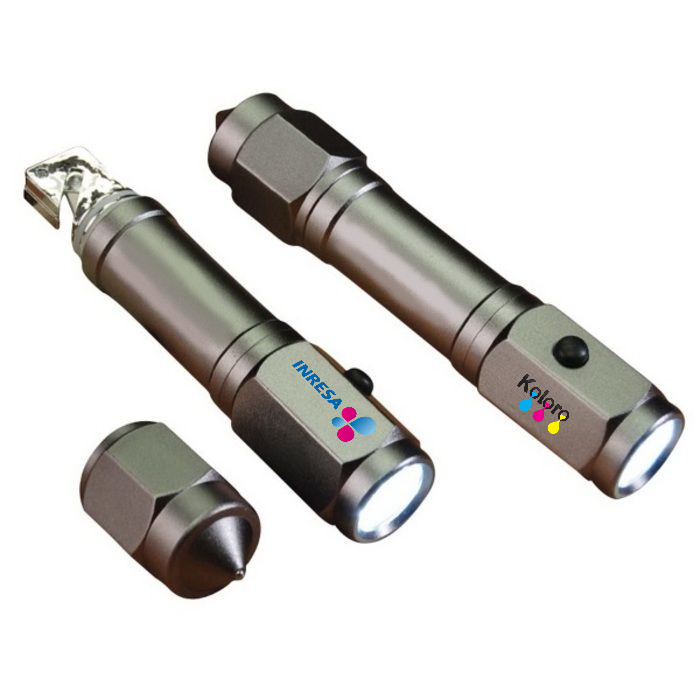 Escape Auto Safety Tool w/Flashlight