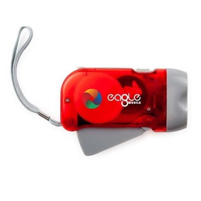 Pump Emergency Survival Flashlight