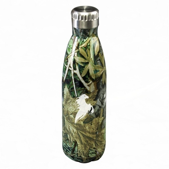 17 Oz. Camo Soda Bottle