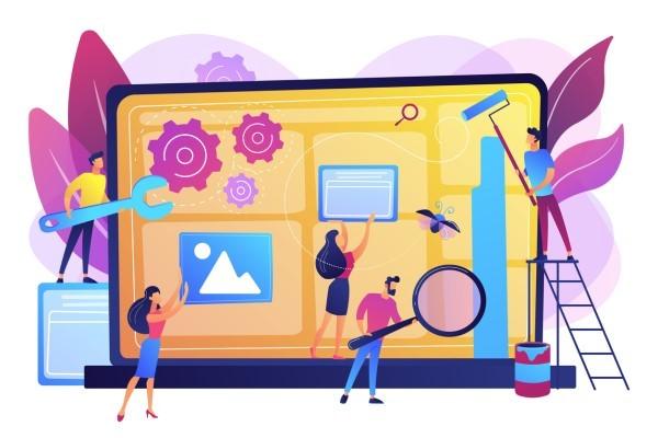 sales partner custom website