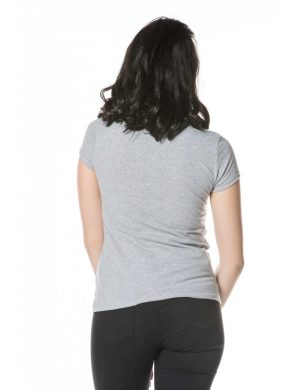 Coco Paris Grey T-shirt Back