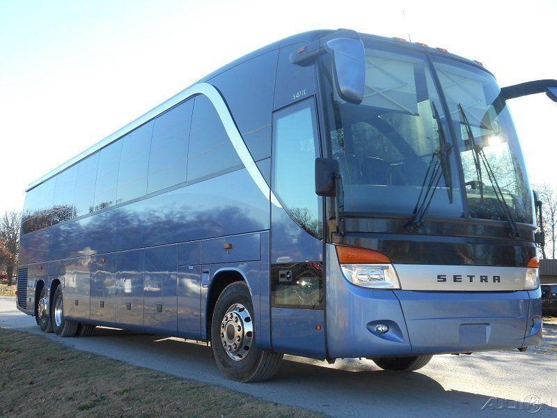 2011 Setra S417 Like New Motor Coach