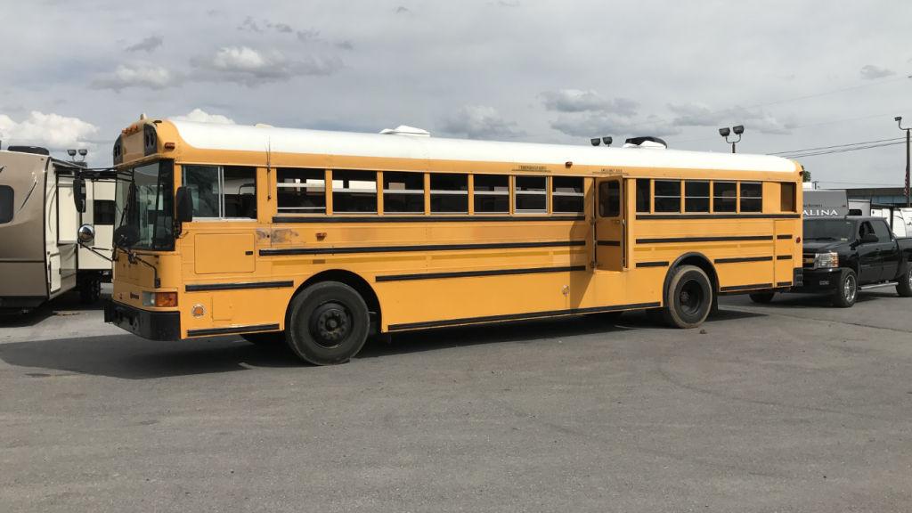 2000 International School Bus 78 Passenger Pusher Dt444e W/ Allison