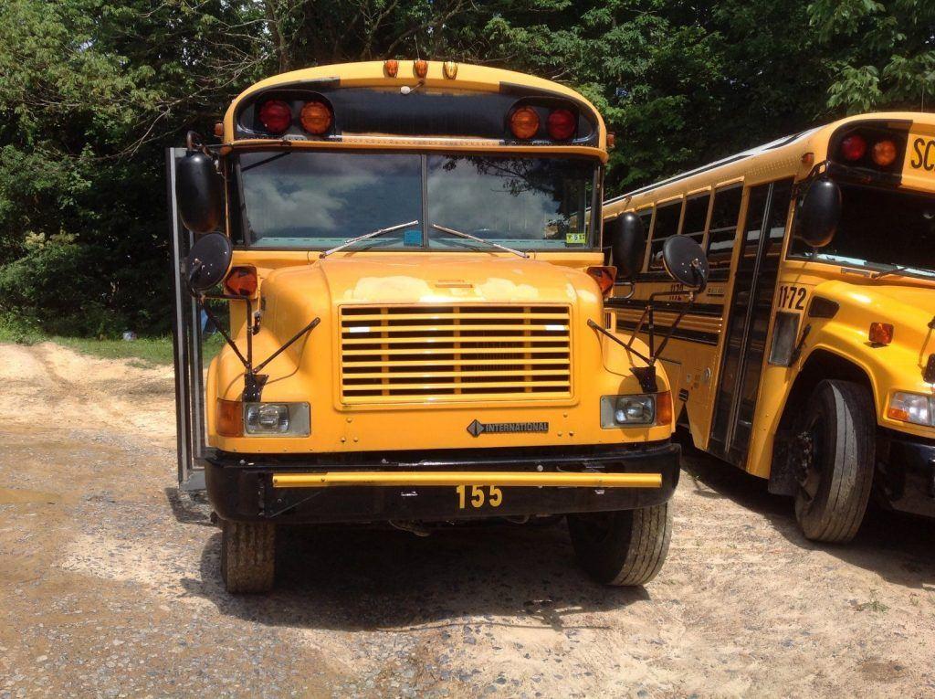 2001 International Bluebird 77 Passenger School Bus