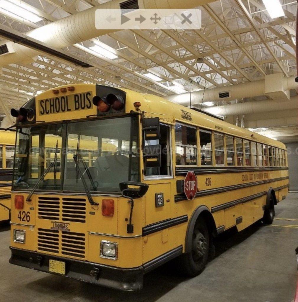 1998 Thomas MVP (front Engine) School Bus