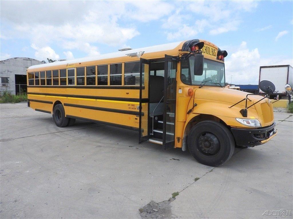 Used 2012 IC CE 71 Passenger School Bus