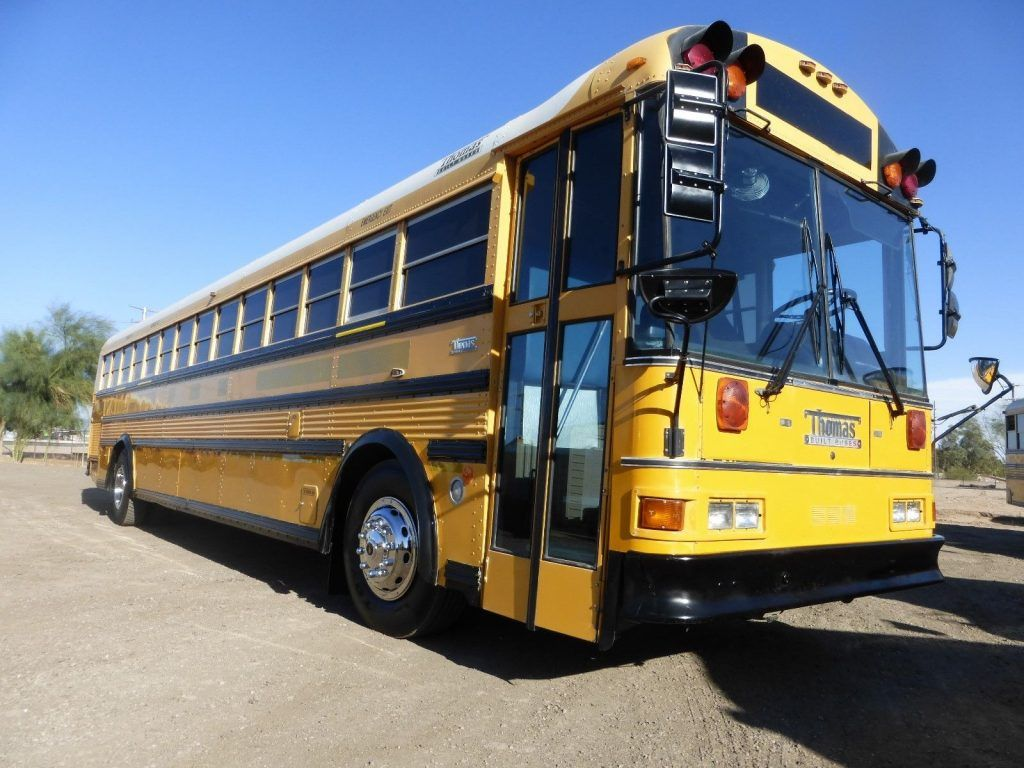 1998 THOMAS 90 PASS 8.3 CUMMINS SCHOOL BUS