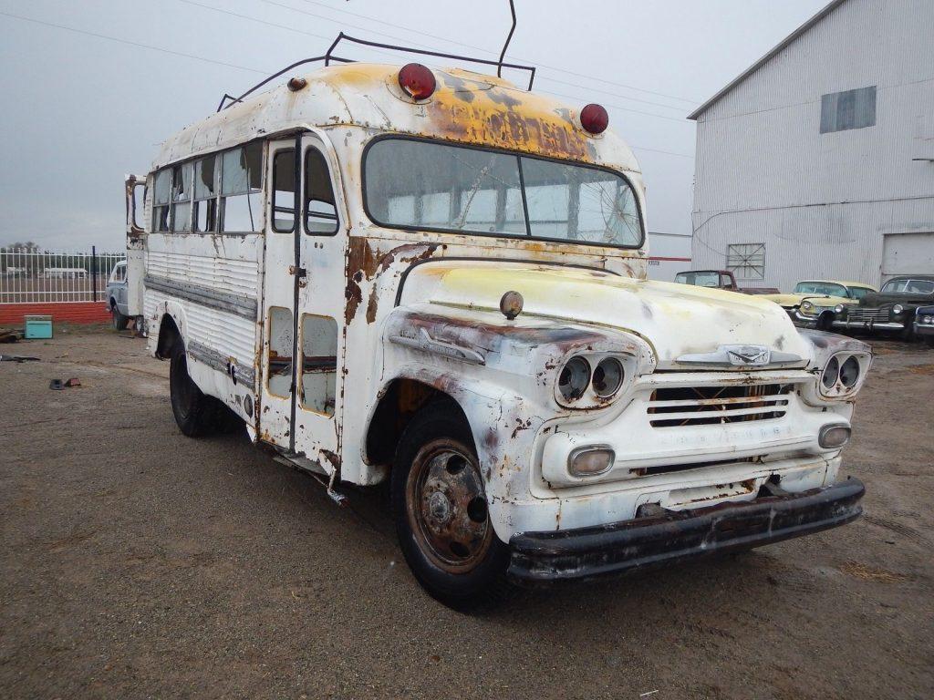 1958 Chevrolet Superior School Bus Short