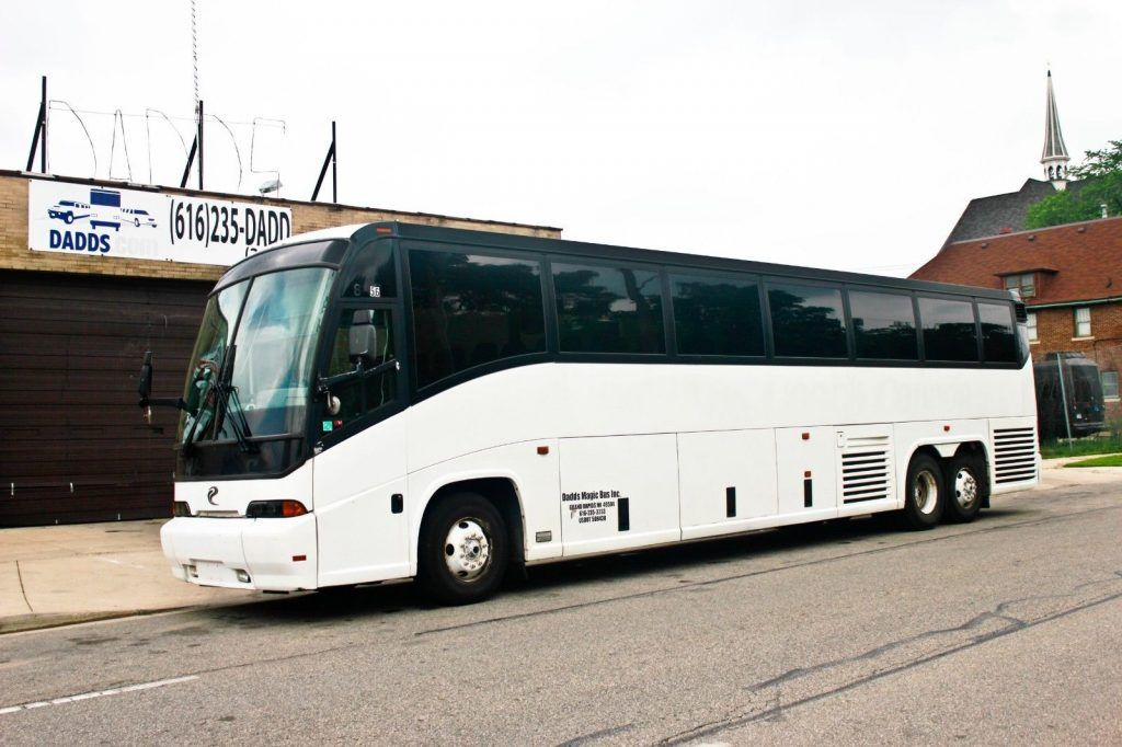 2000 MCI E Model 56 pass bus with Buildout options