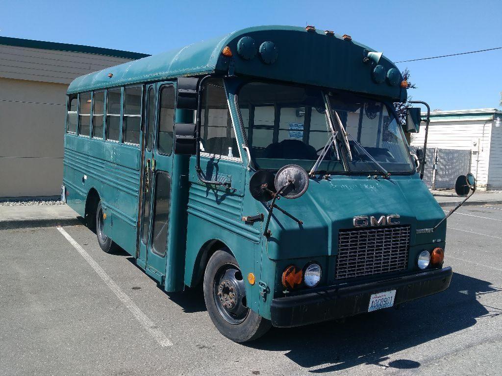 GMC Diesel School bus 146,000miles