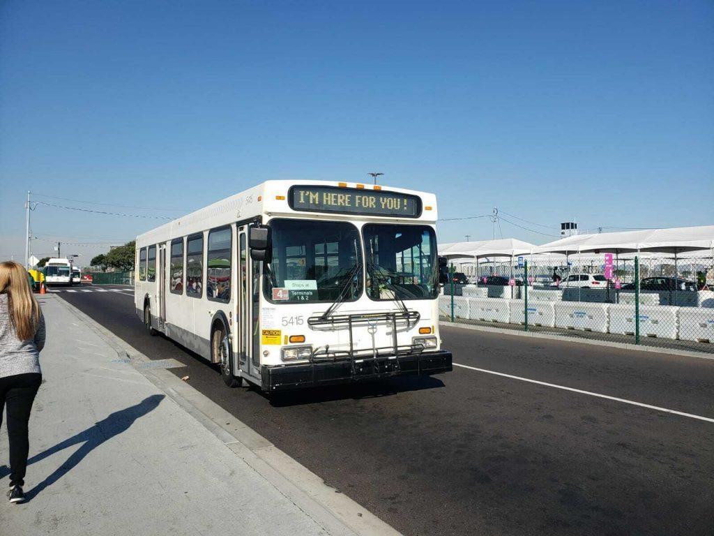1997 New Flyer D40 LF Transit Bus