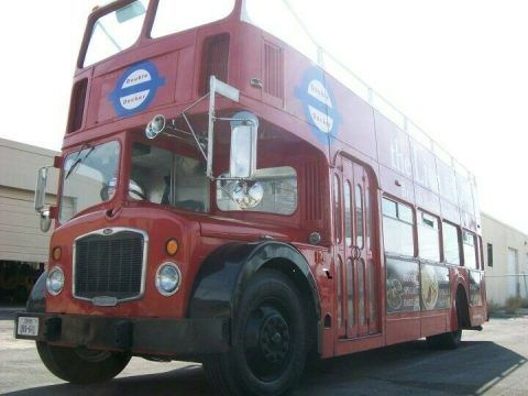 Genuine Antique 1962 Bristol Lodekka Double Decker Bus for sale