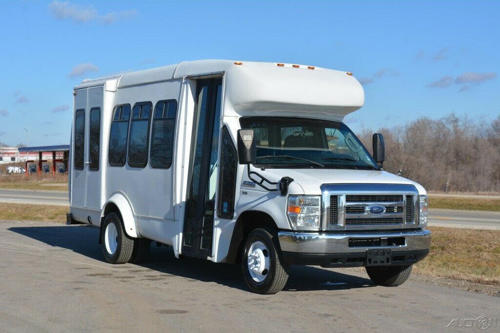 2012 Ford E-350 9 Passenger Shuttle Bus-Liquidation Sale