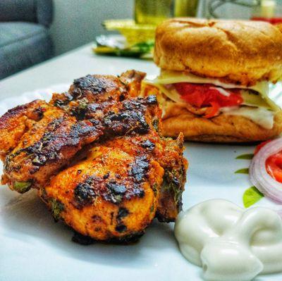 Chicken Methi Kabab