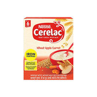 Nestle Stage 1 Cerelac Wheat Apple Carrot Image