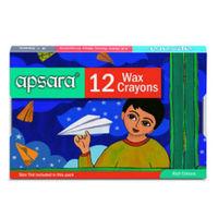 Apsara 12 Wax Crayon Image
