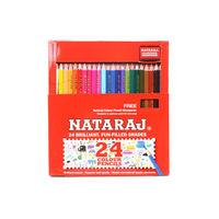 Nataraj Fun Filled Shades 12 Shades Colour Pencils Image