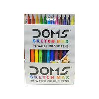Doms Sketch Max 12 Water Colour Pens Image